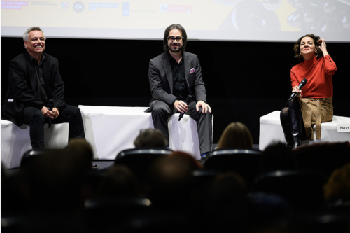 Main Day Town Hall Talk: Gundolf S. Freyermuth, Ian Bogost, Isabela Granic
